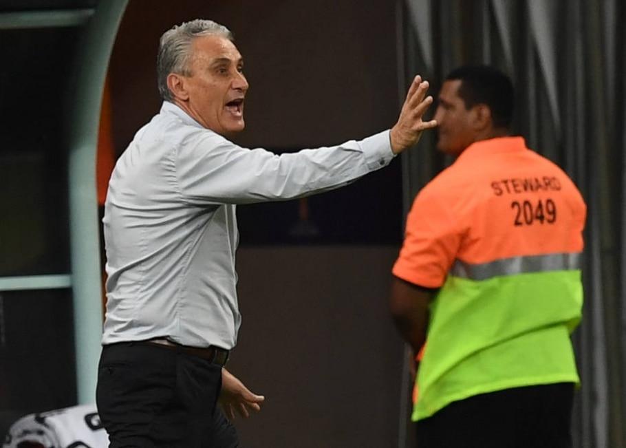 Tite, técnico da seleçõa brasileira - AFP Photo/ Vanderlei Almeida