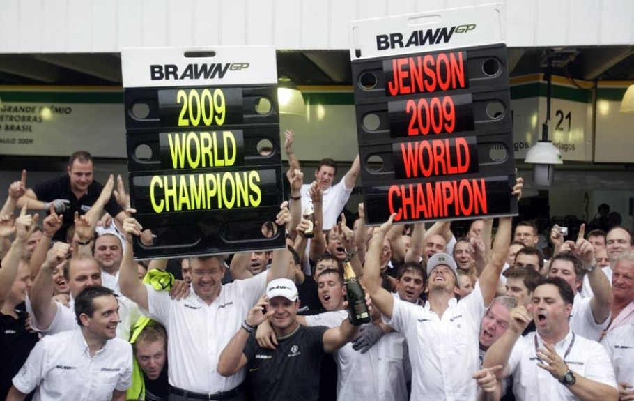 2009 - Jenson Button (Brawn) - Bruno Domingos/Reuters