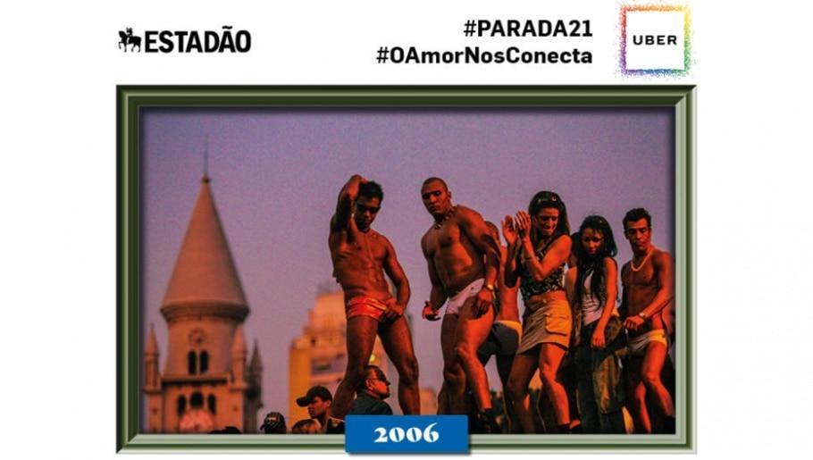 Parada LGBT SP 2006 - Tiago Queiroz/AE
