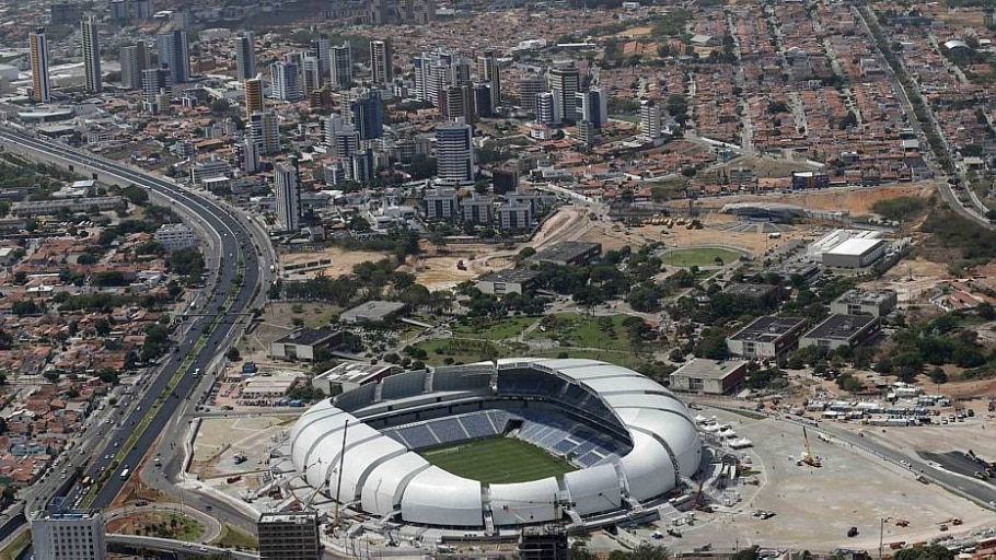 Arena das Dunas foi inaugurada em 2014 para a Copa do Mundo - Sérgio Moraes/Reuters