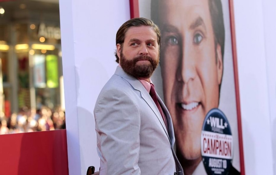 Zach Galifianakis - Mario Anzuoni/Reuters