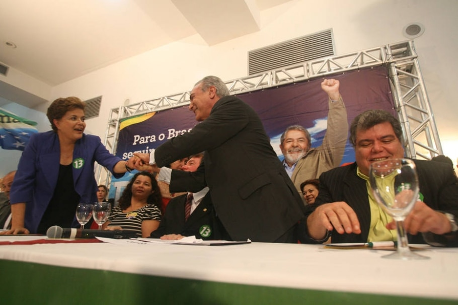 Dilma e Temer - Wilson Pedrosa / Estadão