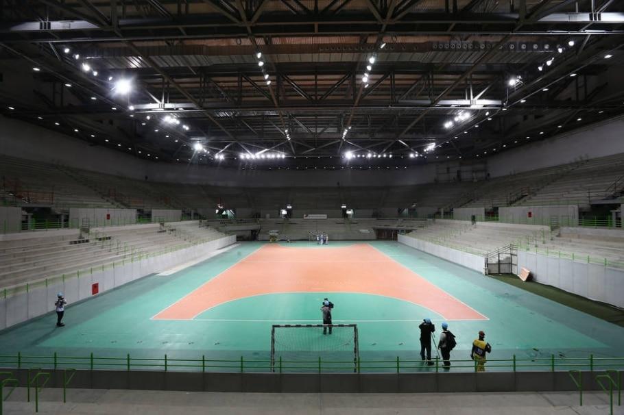 Arena do Futuro, no Parque Olímpico - Wilton Junior/Estadão