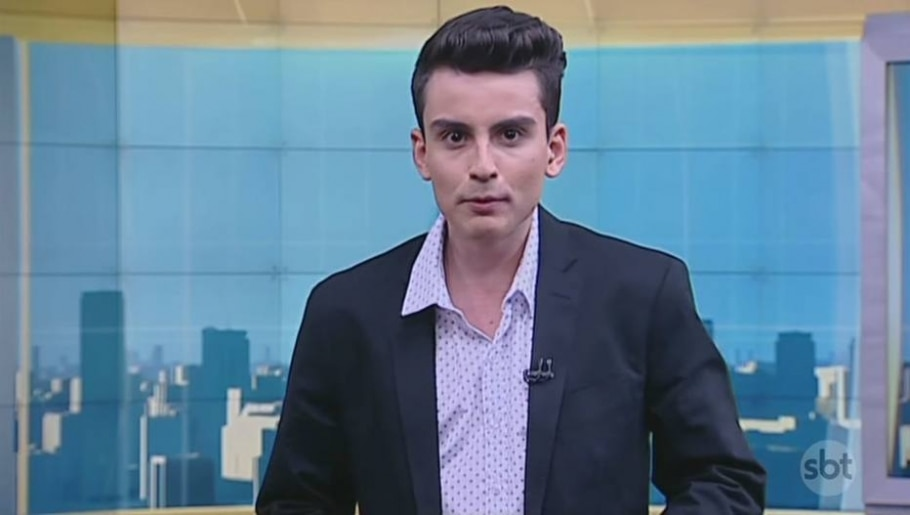Dudu Camargo - Reprodução de cena do jornal 'Primeiro Impacto' / SBT