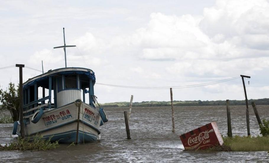 Cheia do Rio Solimões - ?  REUTERS/Bruno Kelly