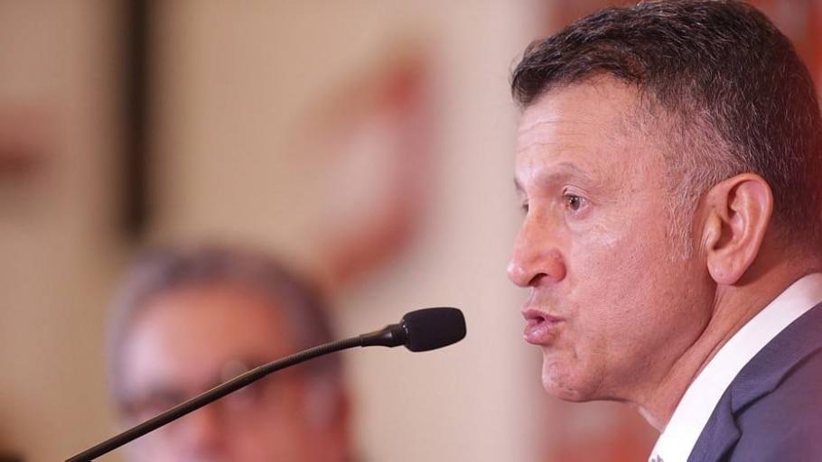 Vice de futebol cobra que Osorio cumpra com a palavra no São Paulo - Nilton Fukuda/Estadão
