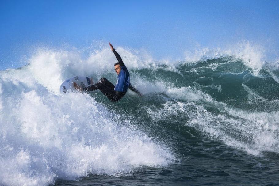 Lucas Silveira, surfista brasileiro - Damien Poullenot/WSL