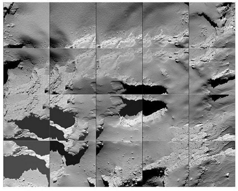 Sonda Rosetta - ESA/Divulgação