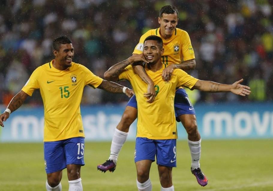 Gabriel Jesus na seleção brasileira - Ariana Cubillos/AP