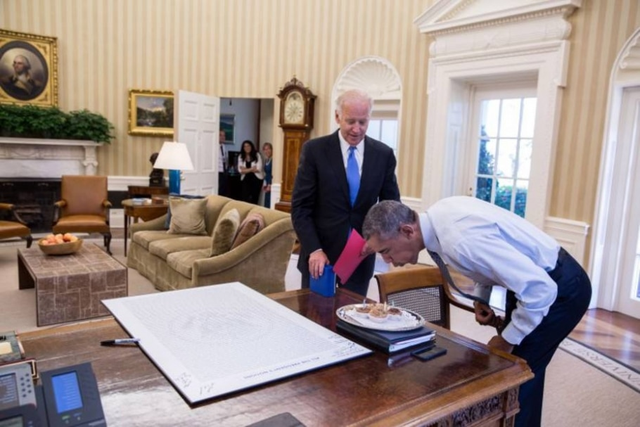 Obama e Biden - Official White House Photo by Pete Souza