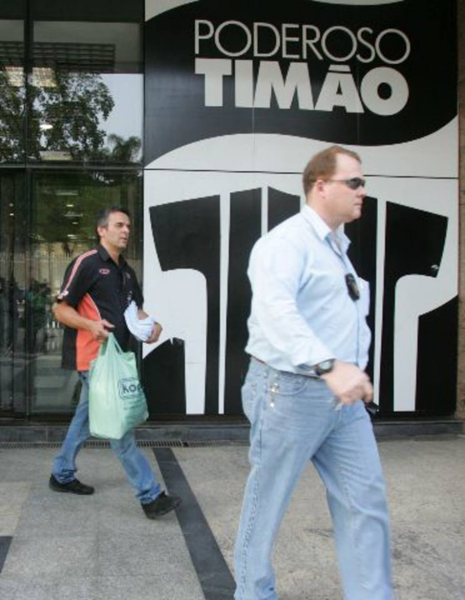 Apreensão de documentos no Corinthians - Paulo Pinto/AE