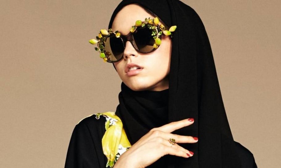 Hijab feito pela marca italiana Dolce & Gabbana - Cortesia/Dolce & Gabbana