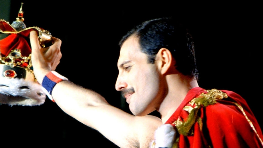 2.º Freddie Mercury (Queen) - Divulgação