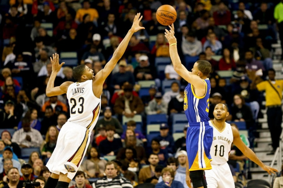 Conferência Oeste:  New Orleans Pelicans (8°) X Golden State Warriors (1°)  - Derick E. Hingle-USA TODAY Sports