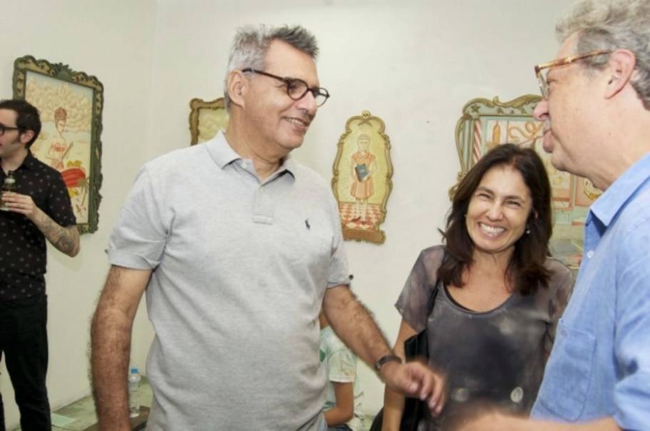 Gilberto Dimenstein, Matthew Shirt e Marina Moraes -