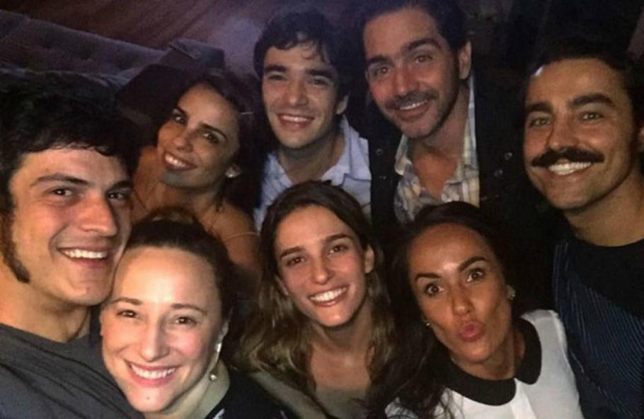 Caio Blat e Ricardo Pereira - Reprodução/Instagram