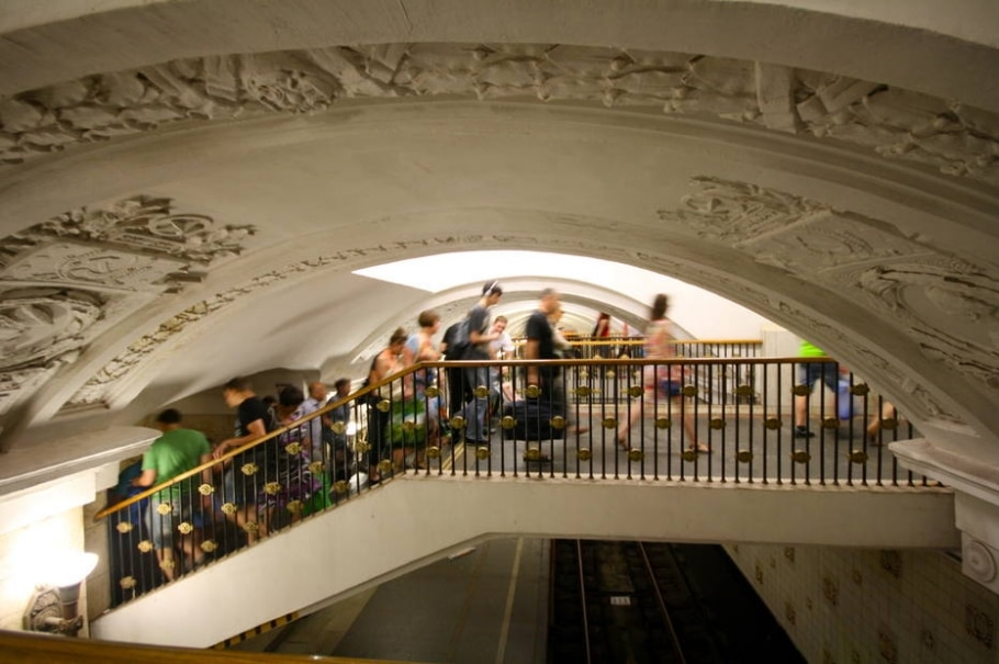 Moscou - metrô  - Mariana Veiga