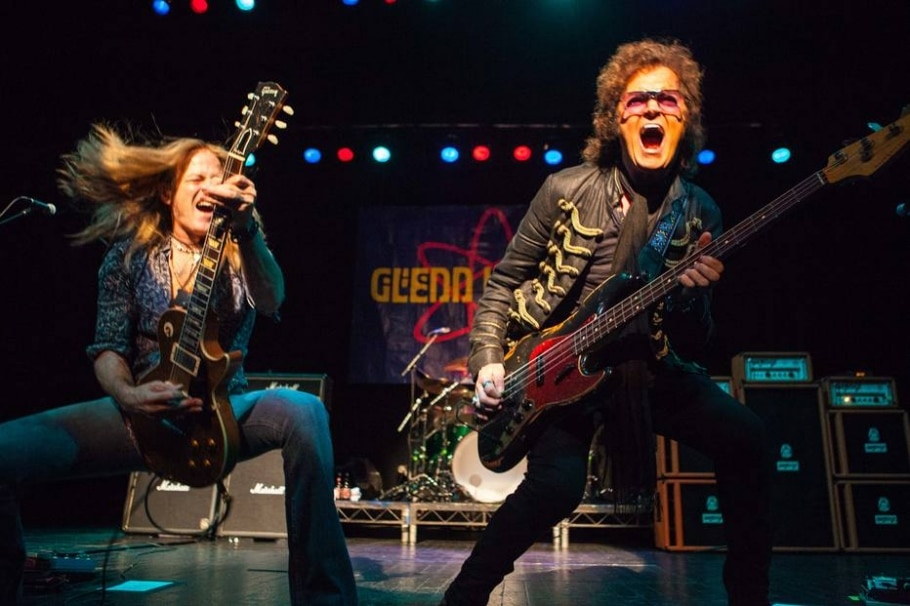 6.º Glenn Hughes, à direita (Deep Purple) - DAVID WALA/DIVULGAÇÃO