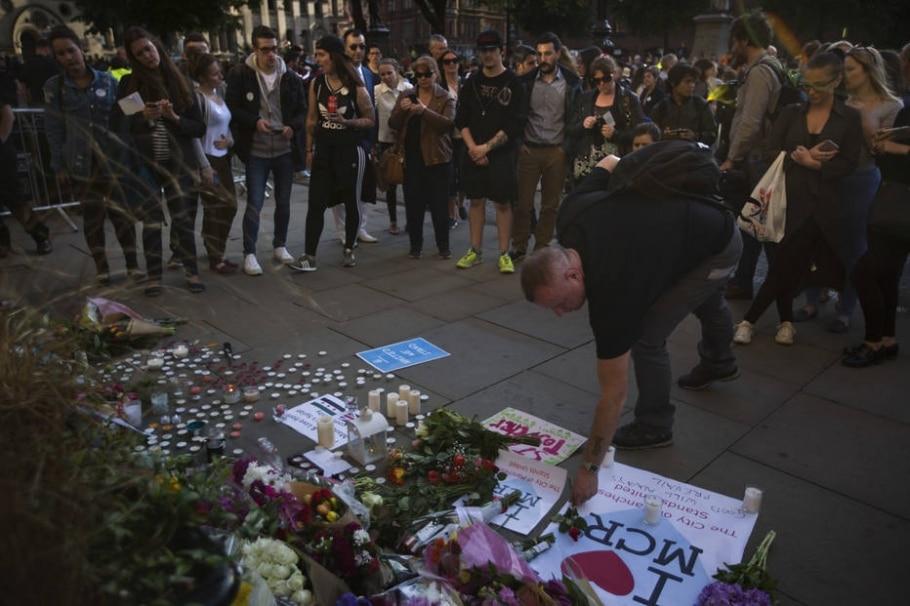 Atentado em Manchester - Emilio Morenatti/AP