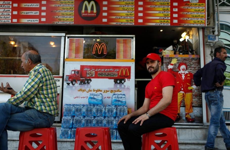 Iranianos criam versão própria de McDonald's - Newsha Tavakolian / NYT