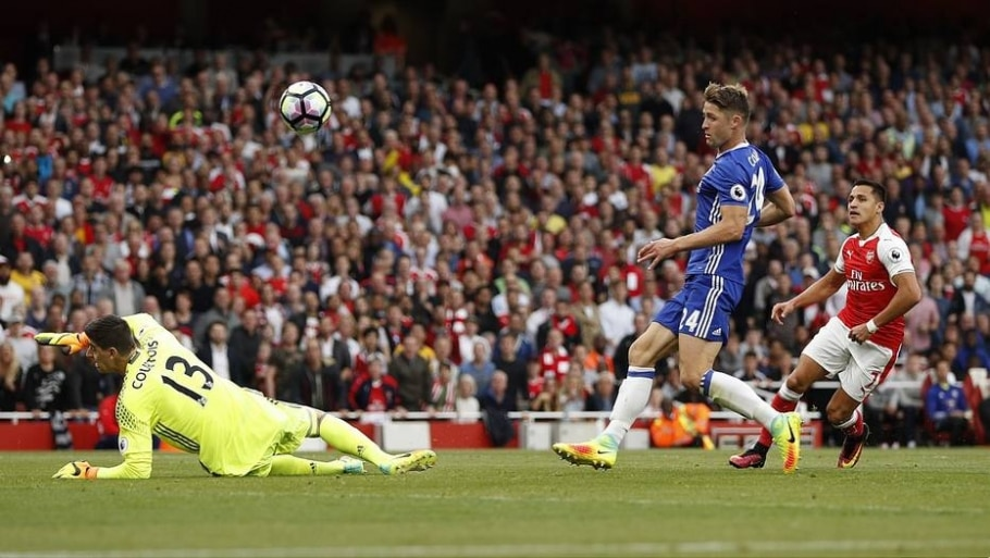 Arsenal faz 3 a 0 no Chelsea no Emirates Stadium - John Sibley/ Reuters