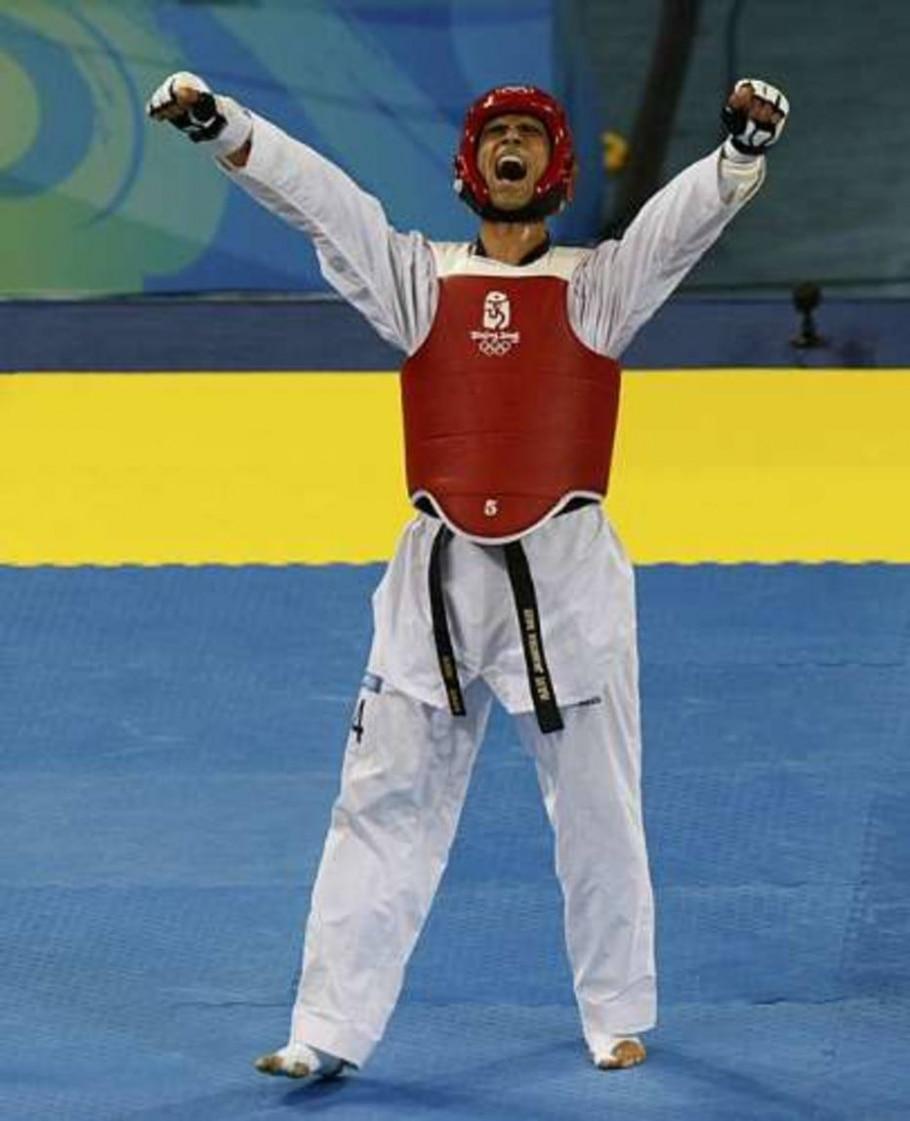 Taekwondo - o atleta iraniano Hadi Saei conquistou o ouro - Issei Kato/REUTERS