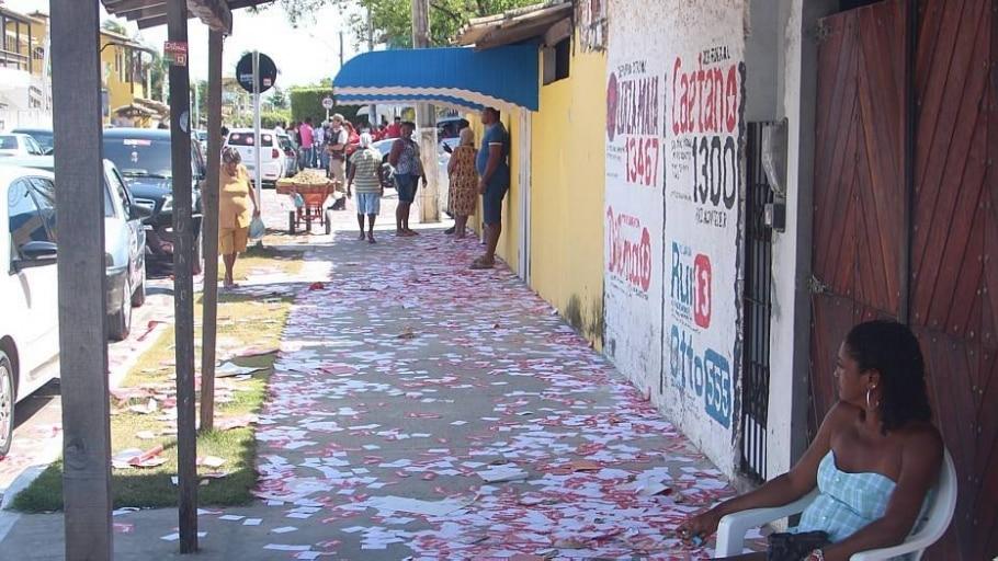 Dez ambulantes são presos por boca de urna em Roraima - Tiago Décimo/Estadão