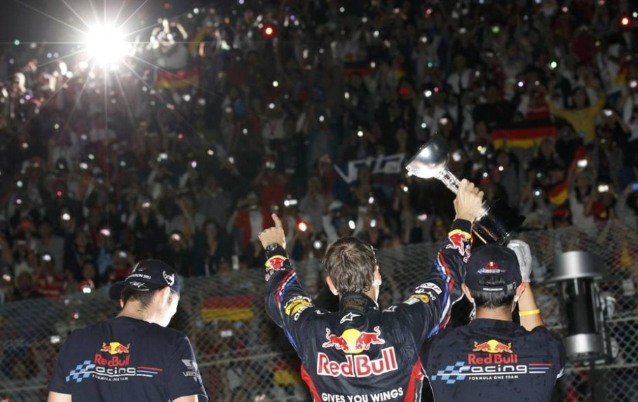 2011 - Sebastian Vettel (Red Bull) - Lee Jae-Won/Reuters