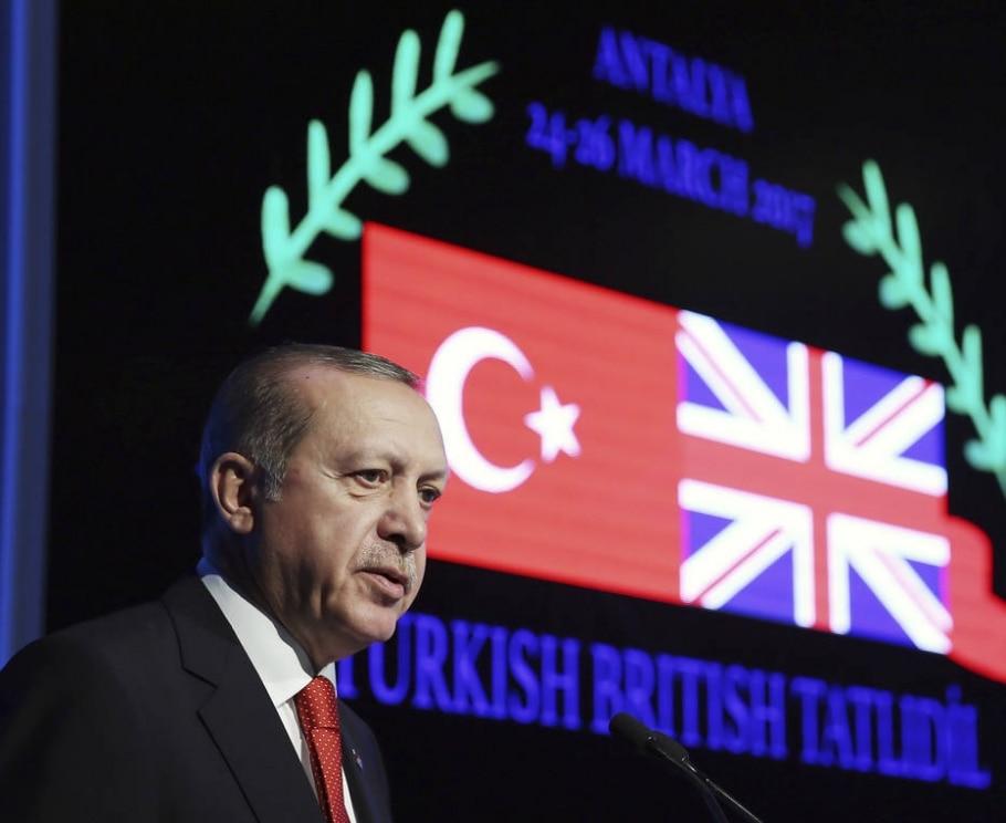 Turquia - Yasin Bulbul/AP
