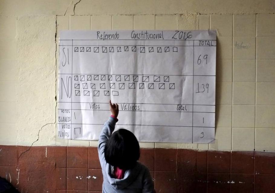 ELEIÇÕES 2016: O referendo constitucional na Bolívia -  REUTERS/David Mercado