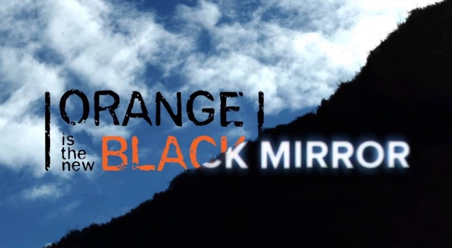Orange Is The Black e Black Mirror - Youtube / @Netflix