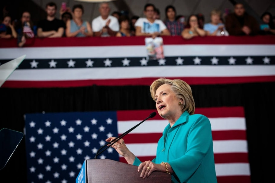 Hillary Clinton - Max Whittaker/The New York Times