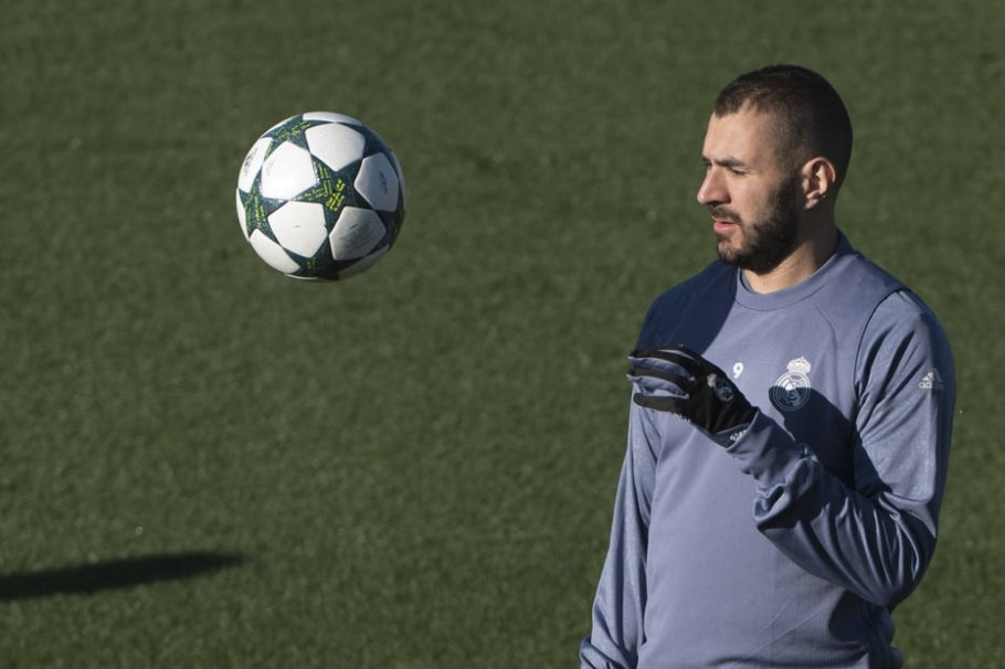 Benzema, atacante do Real Madrid - AFP Photo/ Curto de la Torre