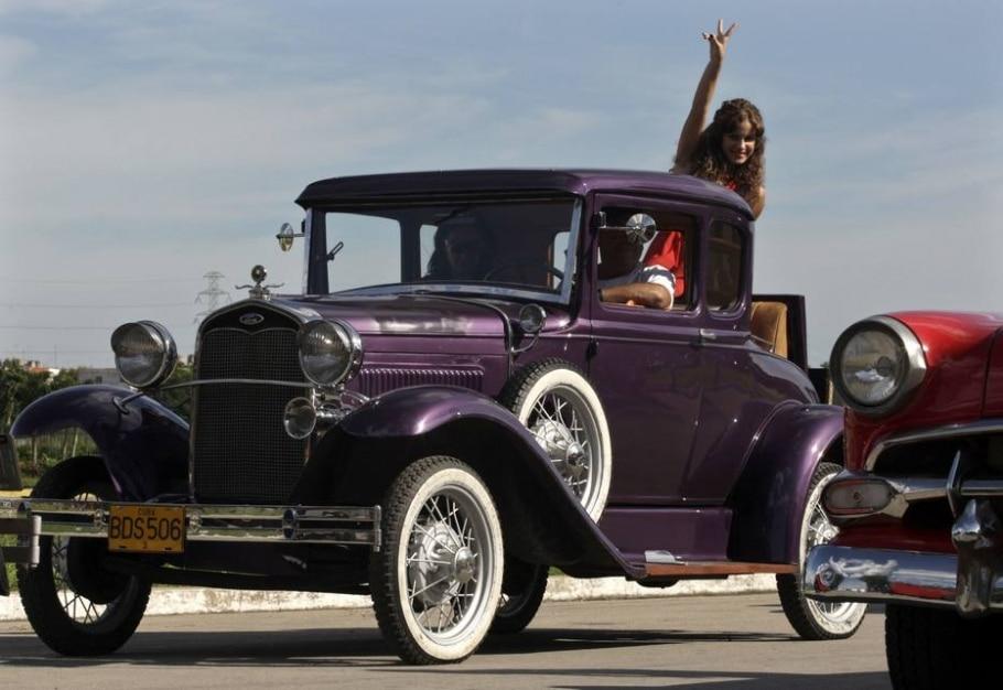 Ford Modelo 18 1932 - REUTERS/Enrique De La Osa