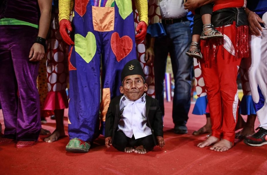 Menor homem do mundo  - Reuters