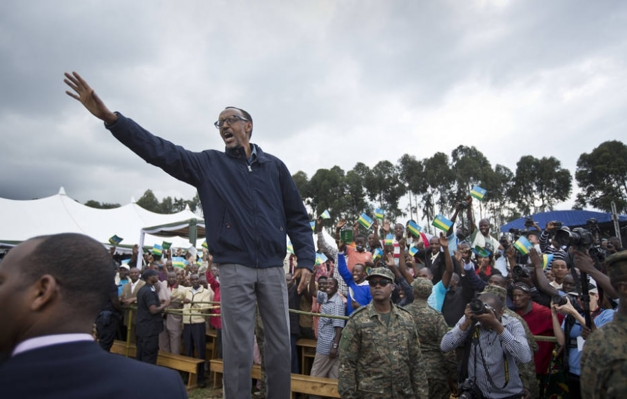 Paul Kagame, presidente de Ruanda  - AP Photo/Ben Curtis