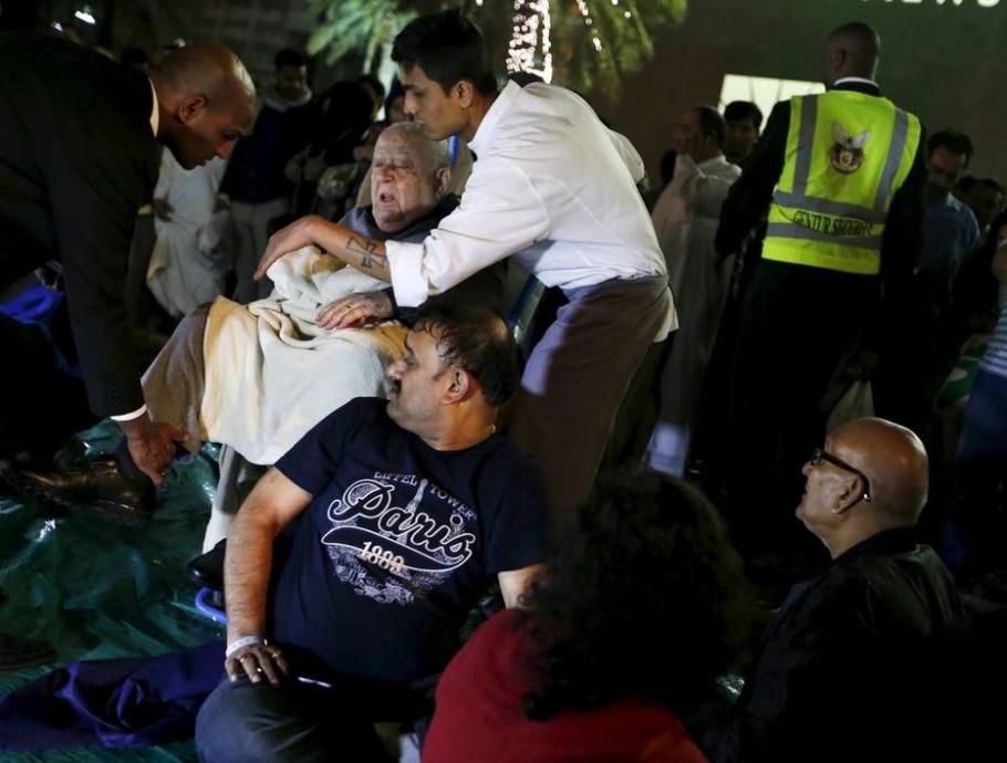 Incêndio atinge hotel em Dubai - Ahmed Jadallah/Reuters