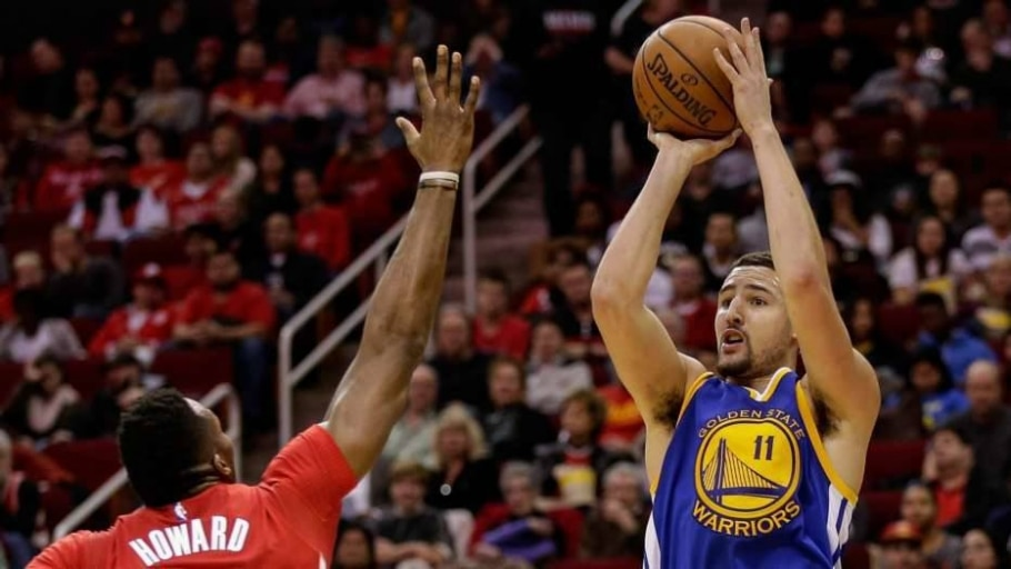 Klay Thompson - Bob Levey/AFP