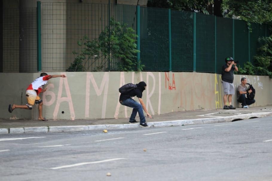 Manifestação contra o aumento das tarifas de transporte público - Rafael Arbex/Estadão