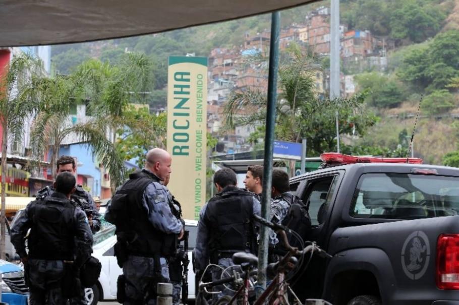 Tiroteio na Rocinha - Fábio Motta/Estadão
