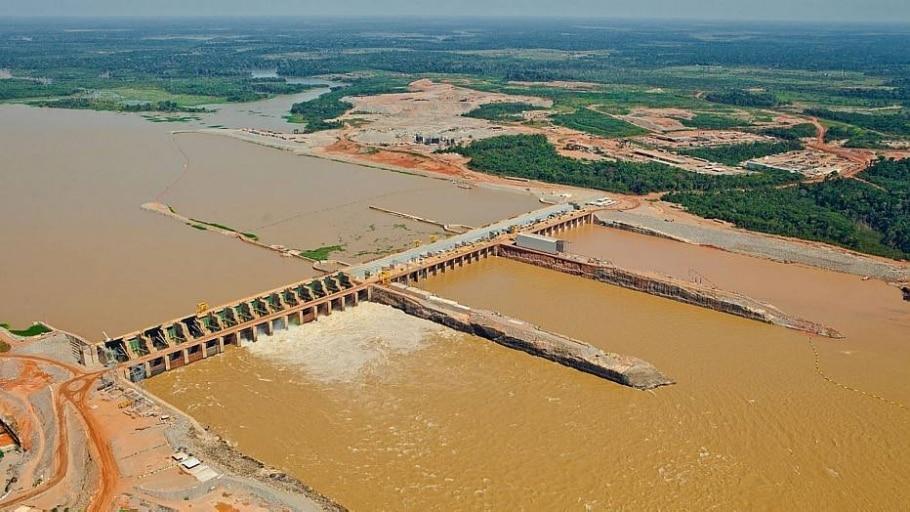Usina hidrelétrica de Santo Antônio - Divulgação