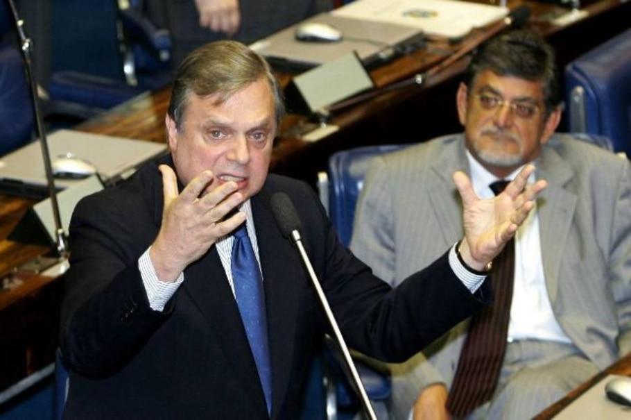 Jereissati discursa sobre adiamento da reunião da Mesa Diretora do Senado - Dida Sampaio/AE