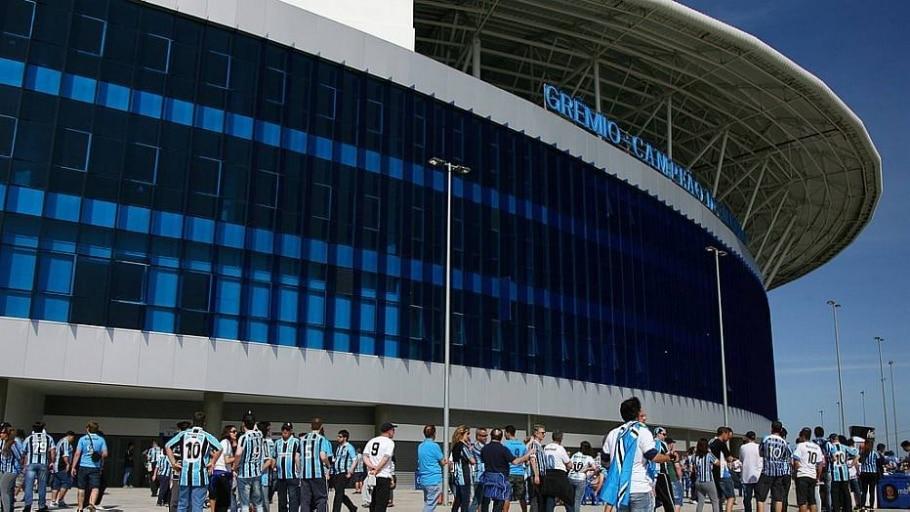 Grêmio manda seus jogos na arena desde dezembro de 2012 - Lucas Uebel/Divulgação