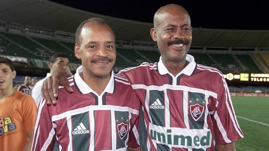 Fluminense vai inaugurar bustos do 'Casal 20' em fevereiro - Léo Correa/O Dia