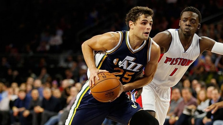 Raulzinho vai bem em estreia na NBA; Huertas é discreto nos Lakers - Gregory Shamus/AFP