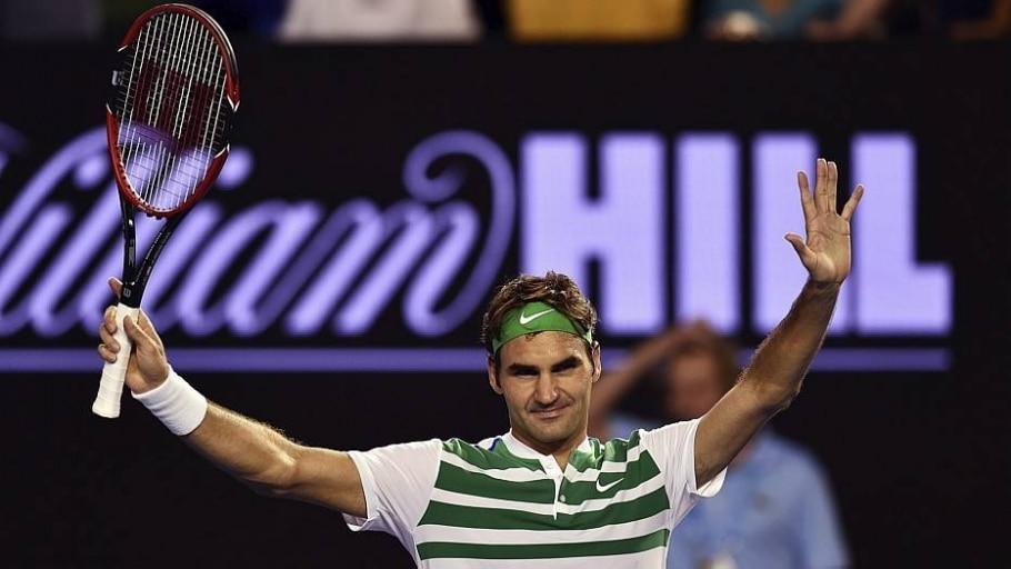 Na Austrália, Roger Federer obtém 300ª vitória em Grand Slams - Tracey Nearmy/EFE