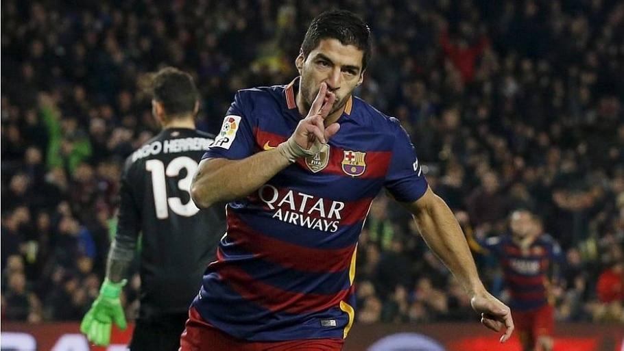 Luis Suárez - Albert Gea/ Reuters