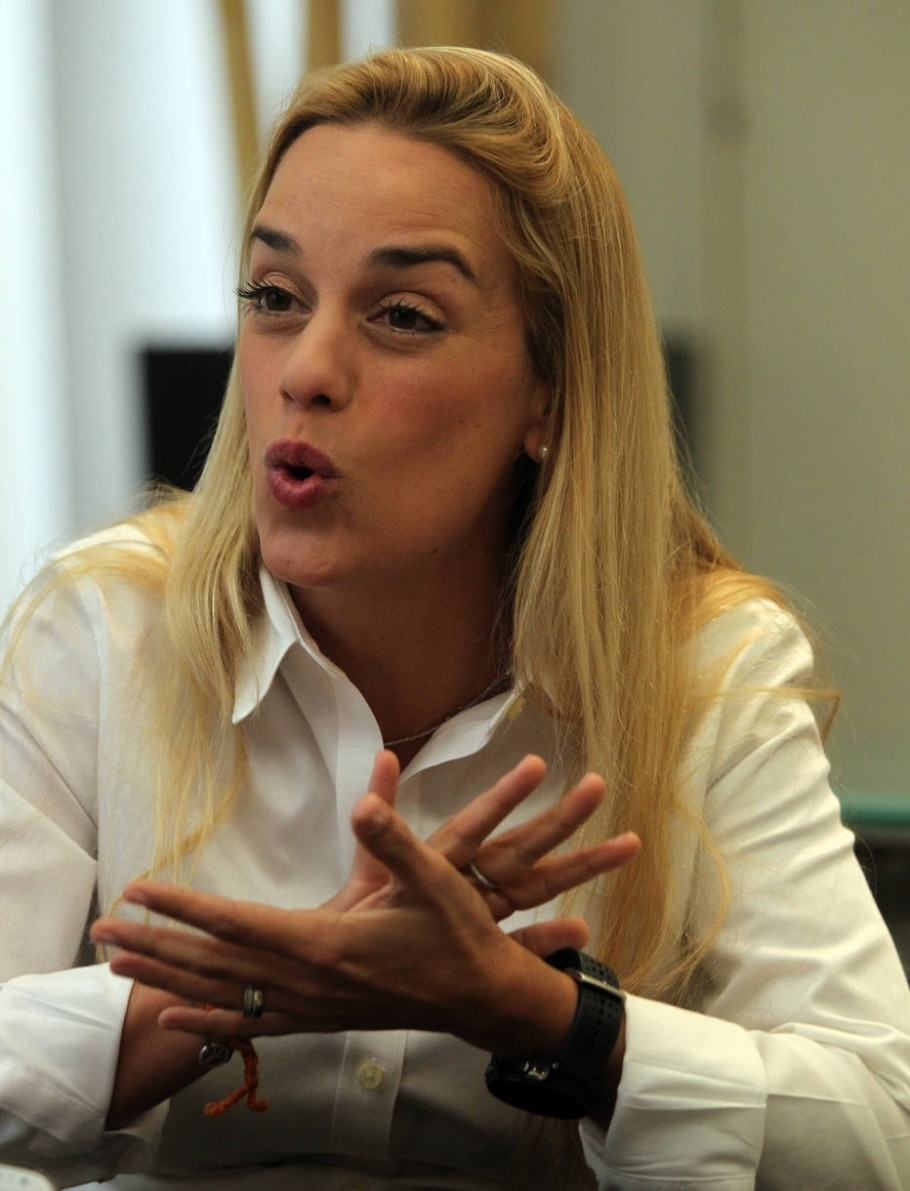 Lilian Tintori - Sérgio Castro / Estadão