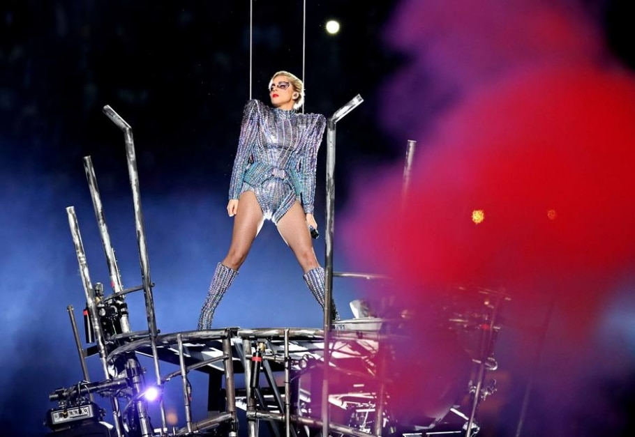 Lady Gaga se apresenta no Super Bowl - Matthew Emmons/USA Today Sports
