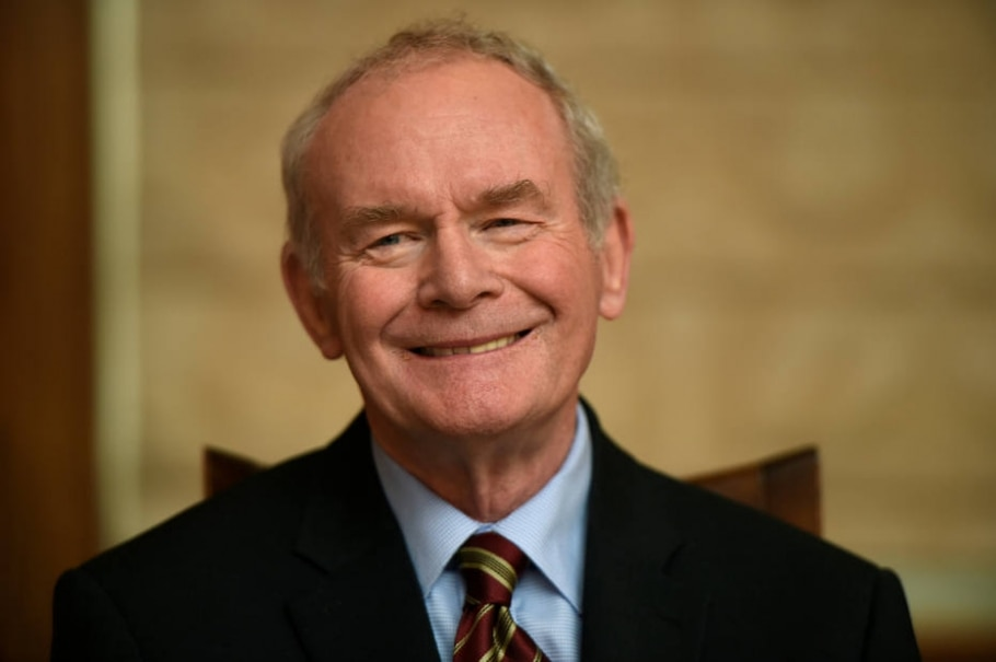 O ex-comandante do IRA Martin McGuinness anunciou em janeiro que deixaria a vida política por questões de saúde - REUTERS/Clodagh Kilcoyne